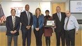 Ken Hern Receives Service Award
